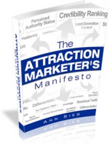 Attraction Marketer's Manifesto