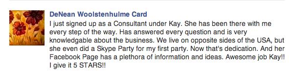 Testimonial-DeNean Card