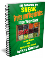 10 Ways Sneak Fruits & Veggies e-Book